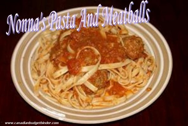 Nonna's Meatballs and Pasta wm