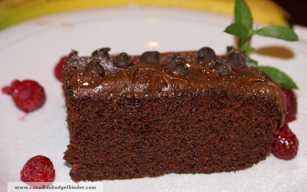 Eggless Mocha Cake Recipe