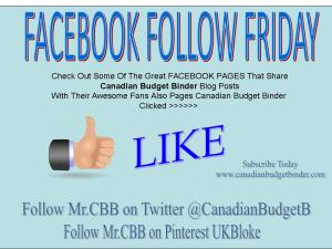Facebook Follow Friday