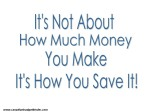 Quote-Budget and Money