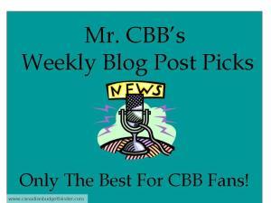 Mr.CBB's Weekly Blog Post Picks