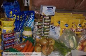 Grocery Game Challenge Nov