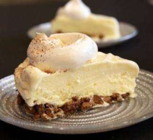 egg nog pie- Nestle Kitchens