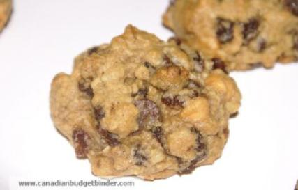 Oatmeal Raisin Chocolate Cookies