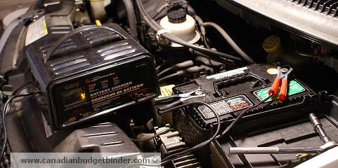 Battery Charging for Car