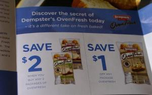 Dempsters coupons Canada