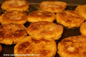 Golden Brown Thai Fish Cakes