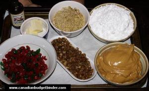 Peanut Butter Balls Ingredients