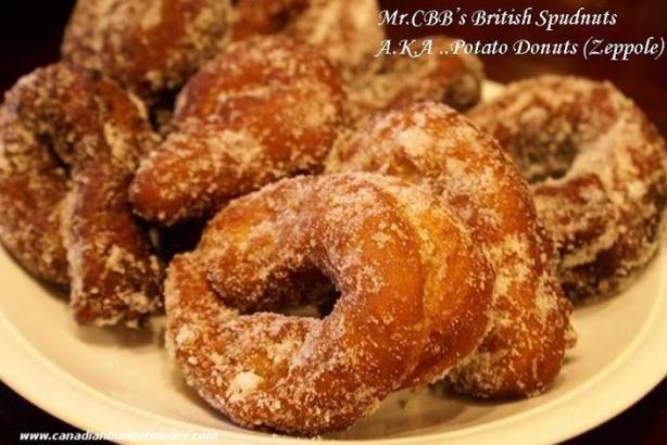 Italian Zeppole Potato Donuts