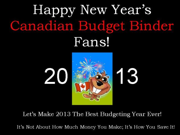 New Year's 2013 CBB