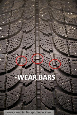 Winter Tire Wear Bar Indicators