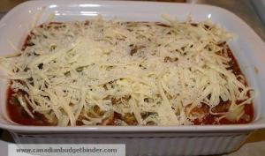 Chicken Parmigiana Ready For The Oven
