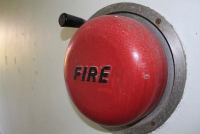 fire alarm, fire, symbol