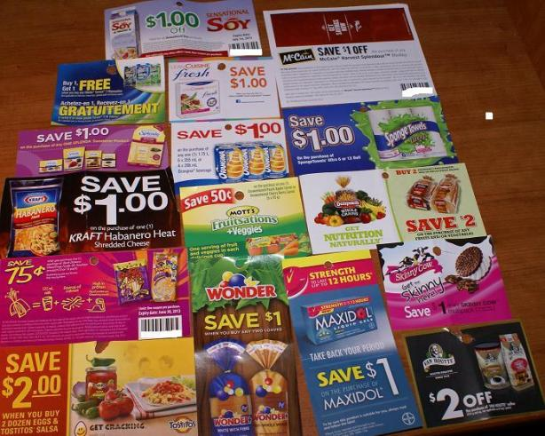Coupons Canada January 2013