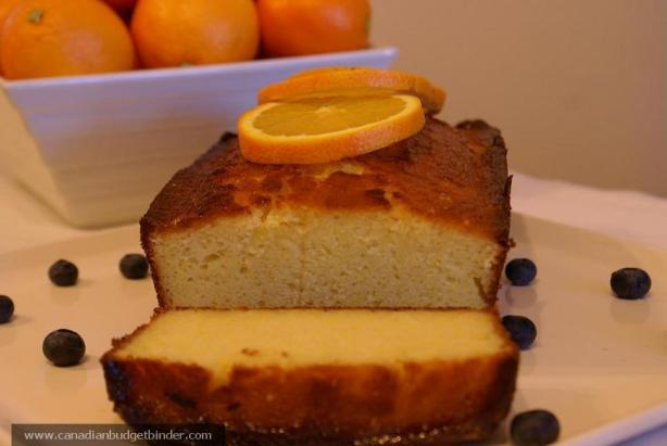Mr.CBB's Orange Ricotta Pound Cake