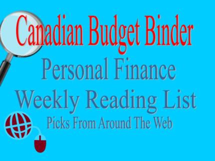 Personal Finance Reading LIst