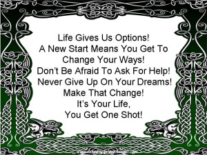 New Start, New Beginning, New Life, Change, Divorce, Seperation
