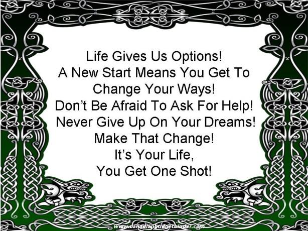 New Start, New Beginning, New Life, Change, Divorce, Seperation