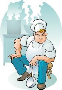 The Chef Cartoon