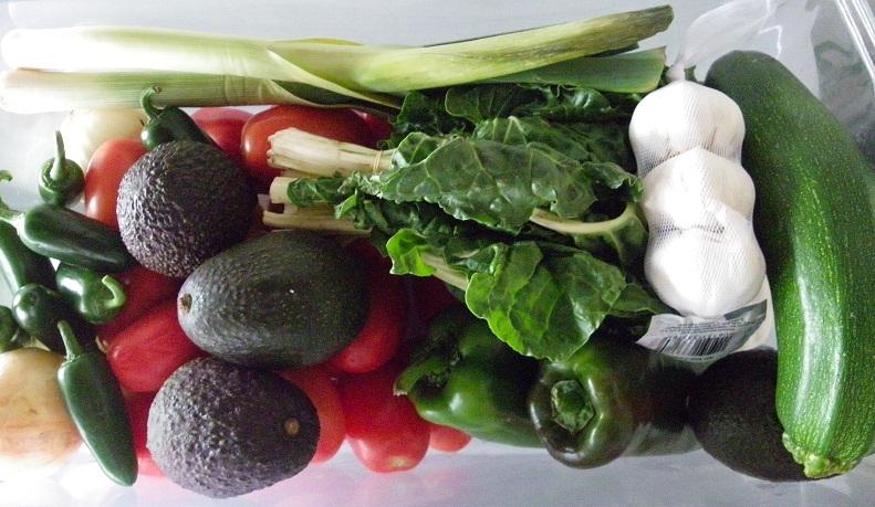 Grocery Shop Garden Vegetables