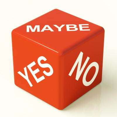Maybe Yes No