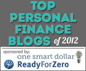 Top Personal Finance Blog 2012
