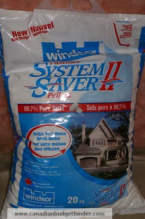 Canadian Tire Mastercard >> Soft Or Hard Water-Is Your Water Softener Costing You Money? - Canadian Budget Binder