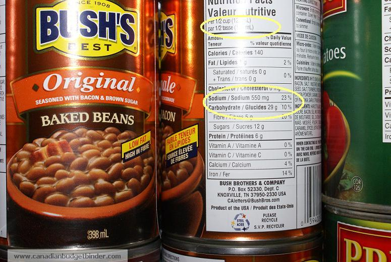 recipe: bush's baked beans nutrition [25]