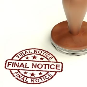 Final Notice Credit