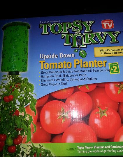 Topsy Turvey Tomato Planter 2