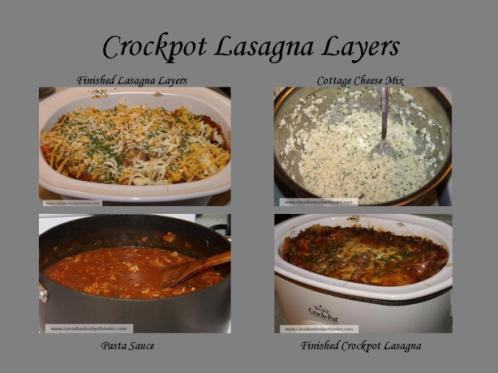 Crockpot Lasagna Layers 2