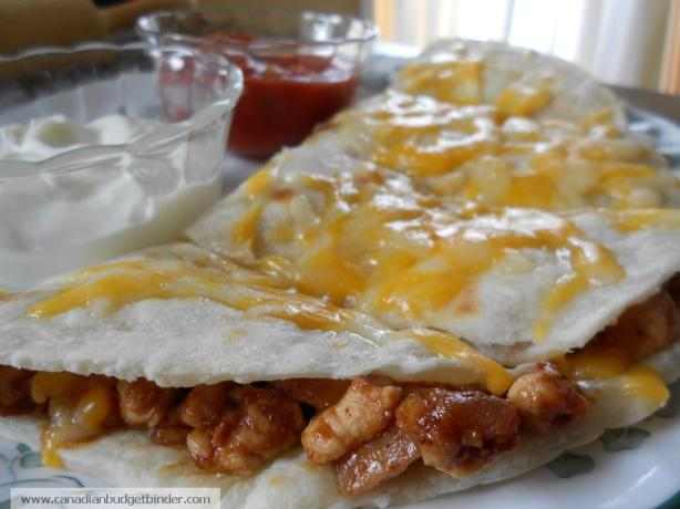 Jen's Homemade Quesadillas