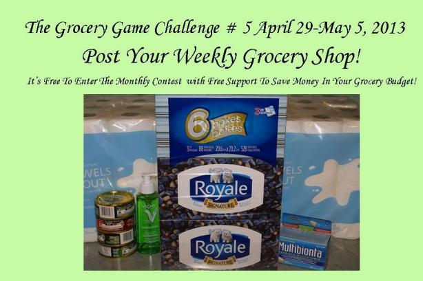 The Grocery Game April 29-May 5