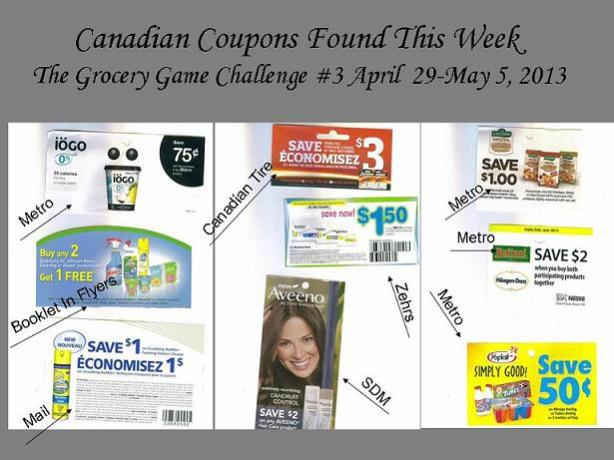 Week 5 Canadian Coupons Found This Week Apr 29 to May 5