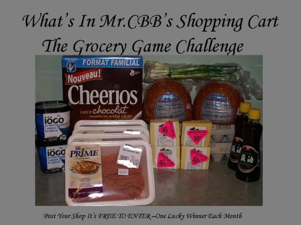 What's In Mr.CBB's Shopping Cart #1 April