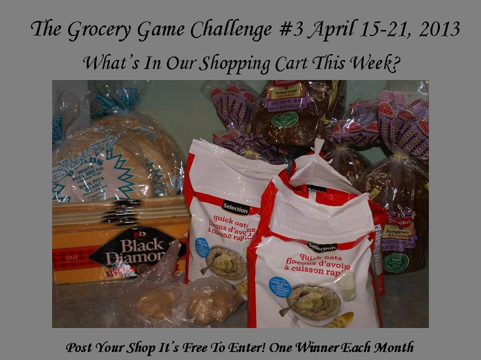 The Grocery Game Challenge April Week 3