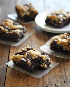 Chocolate Cookie Brownies