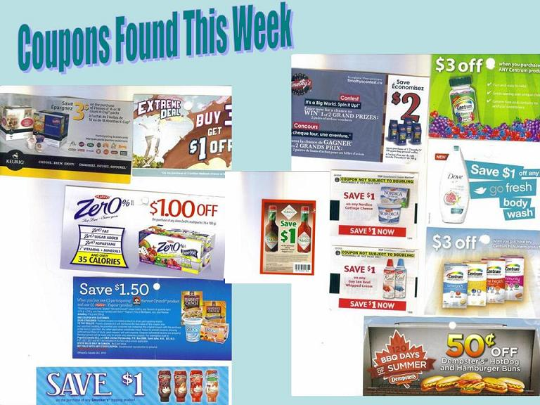 Coupons Found This Week Canada May 28, 2013