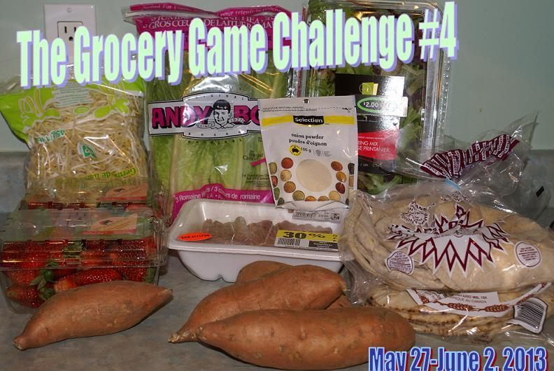The Grocery Game Challenge #4 May 28,2013