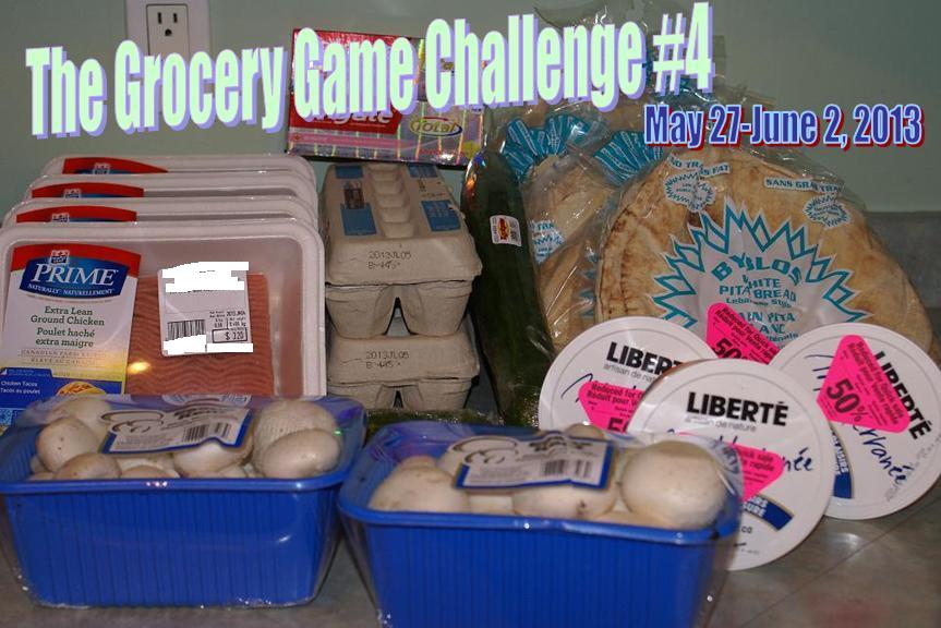 The Grocery Game Challenge #4 May