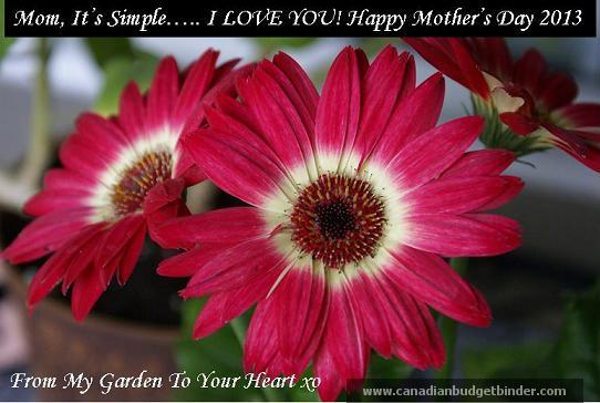Happy Mothers Day 2013 I love you