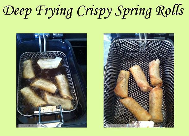 How To Deep Fry Spring Rolls