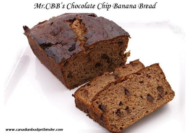 Mr.CBB's Chocolate Banana Bread