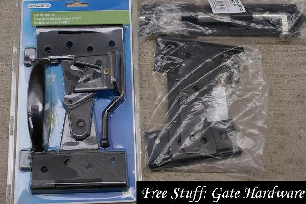 Free-stuff-gate-hardware