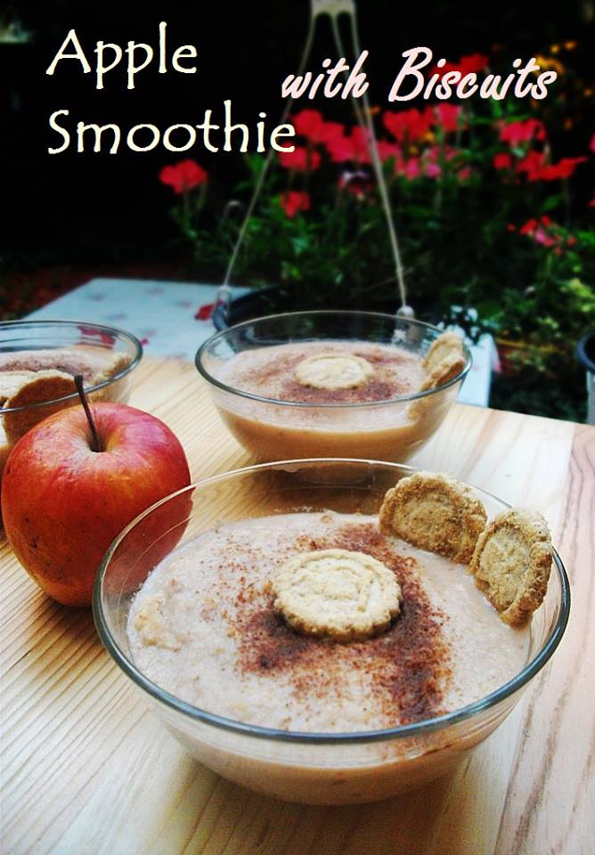 apple-smoothie-with-biscuits