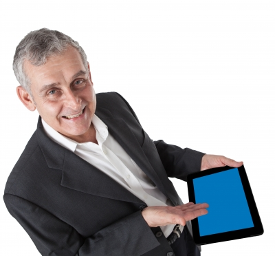 senior-with-a-tablet