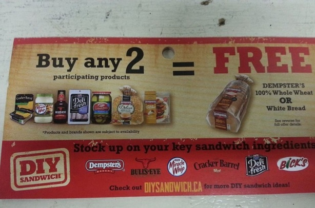 dempsters coupon