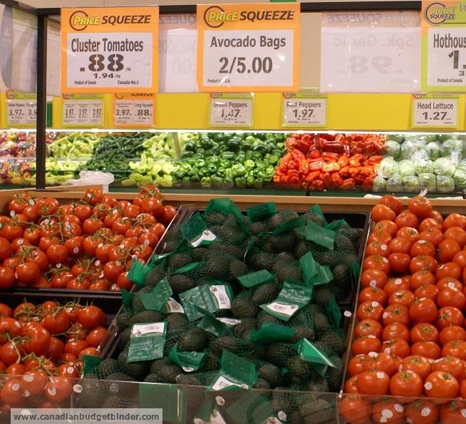 Food Basics produce section